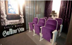 Raum für Präsentationen im «Kino»