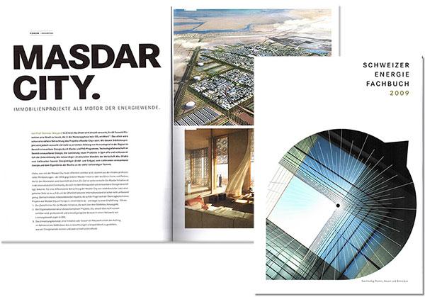 Dietmar Wiegand Schweizer Energiefachbuch 2009 Masdar City