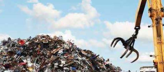 Vor dem Recycling ist nach dem Recycling