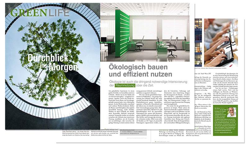 Dietmar Wiegand der Standart Green life