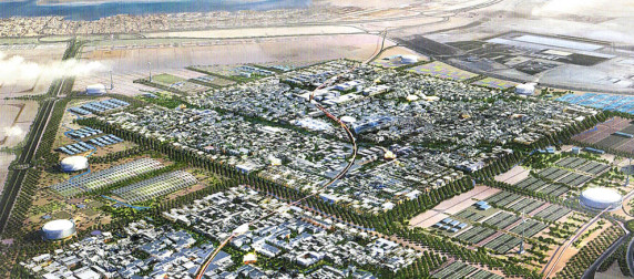Masdar City.